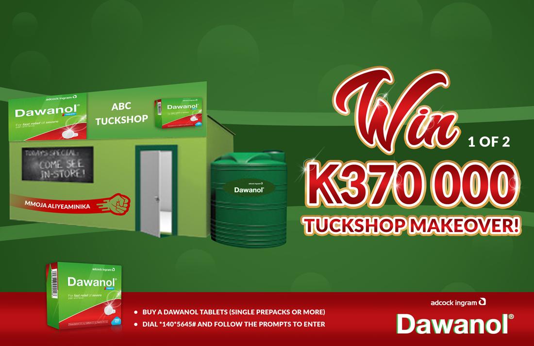 Competition Advert: Tuckshop Makeover